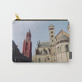 Colorful  Churches Carry-All Pouch