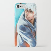 jack frost iPhone & iPod Cases featuring Jack Frost by Maine