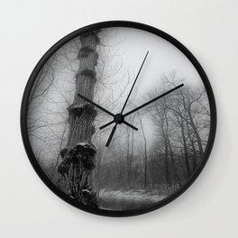 last winter days Wall Clock