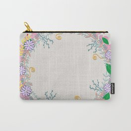 Spring Wreath Carry-All Pouch
