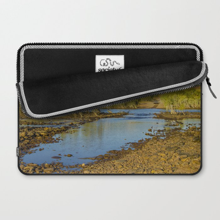 Pentecost River Crossing Laptop Sleeve