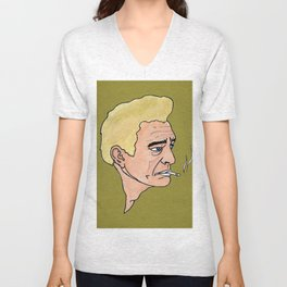 Blond Johnny by Surjal Unisex V-Neck