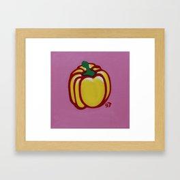 Bell Pepper-2 Framed Art Print