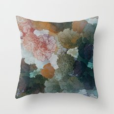 Terra shades Throw Pillow