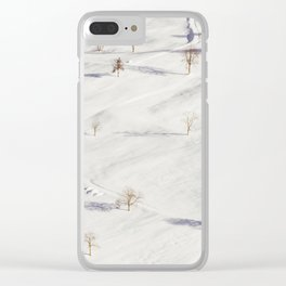 White Winterscapes II Clear iPhone Case