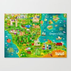 Imagine Nation Canvas Print