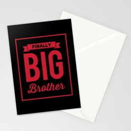 Finally Big Brother Gifts For Siblings Stationery Cards