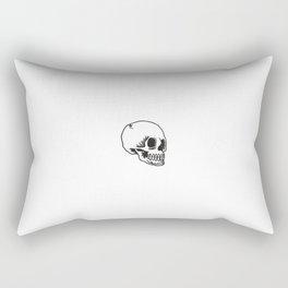 Cracked Skull Rectangular Pillow