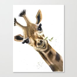 Gitaffe Canvas Print