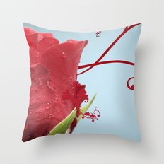 Rose, Reinvented Throw Pillow