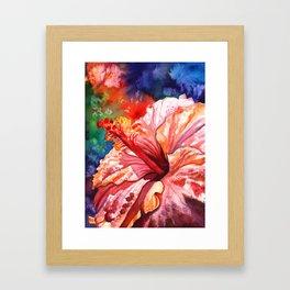 Tropical Hibiscus 2 Framed Art Print
