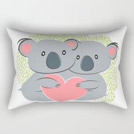 Koala innamorati Rectangular Pillow