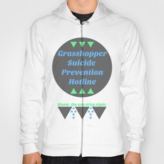 Grasshopper Suicide Prevention  Hoody