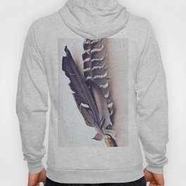 Sacred Smudging, Feather Fan Hoody