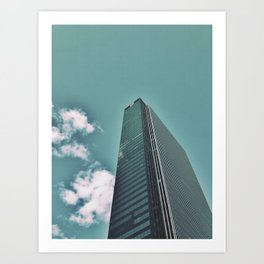 I love this building on so many levels  Art Print
