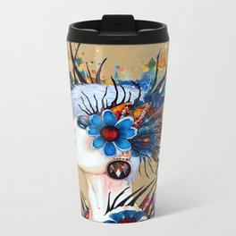 """Daughter Earth"" Metal Travel Mug"