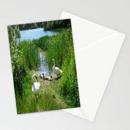 Bosherston Lily Ponds.Pembrokeshire.Wales. Stationery Cards