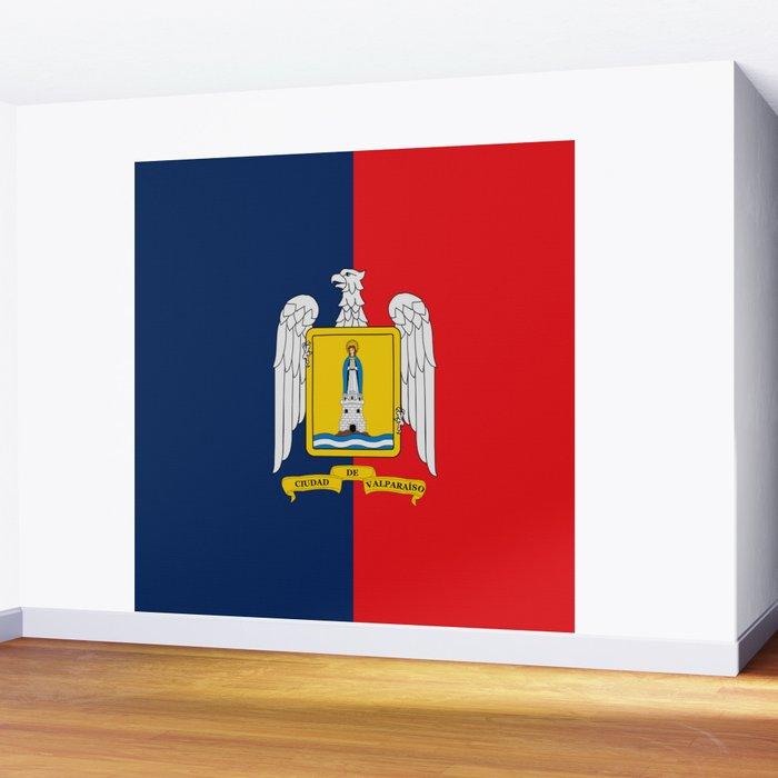 Flag of Valparaiso Wall Mural
