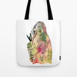 Beetle Queen Tote Bag