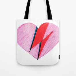 I heart Bowie  Tote Bag