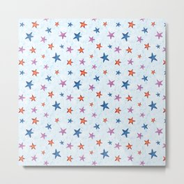 Starfishes Metal Print