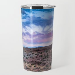 Utah Red Rock and Colorful Sunset Travel Mug
