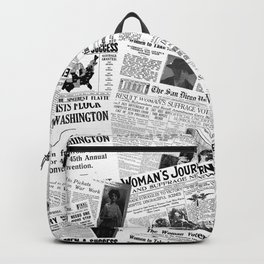 WOMEN'S SUFFRAGE Backpack