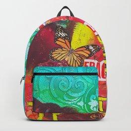 Fragil y fuerte Backpack