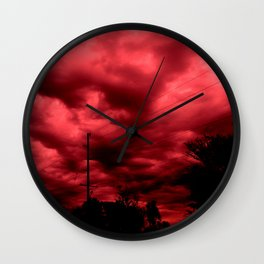 Abyss of passion Wall Clock