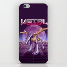 Metal Wolf Claw iPhone & iPod Skin