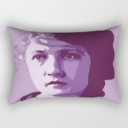 Zelda Fitzgerald Rectangular Pillow