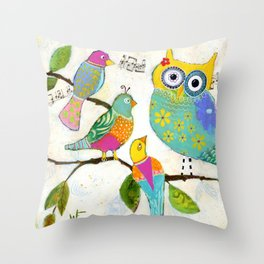 """Seeking Words of Wisdom"" Throw Pillow"