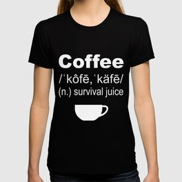 Definition of Coffee - Light Roast Edition T-shirt