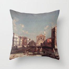 Francesco Albotto - San Giuseppe di Castello Throw Pillow
