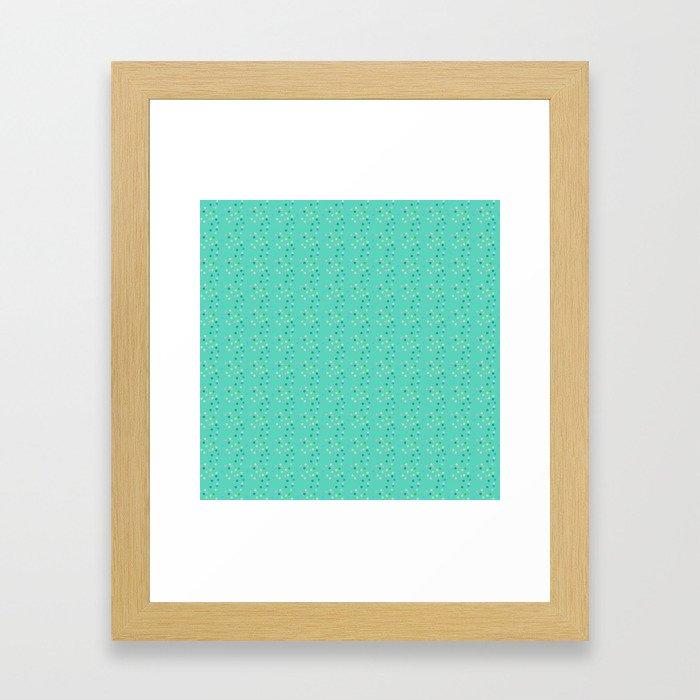 confetti 2 Framed Art Print