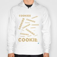 cookies Hoodies featuring COOKIES! by Lindsay Spillsbury