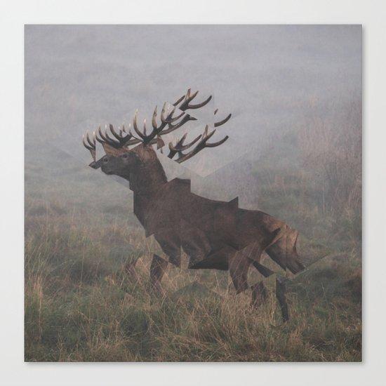 Deer Interrupted Canvas Print