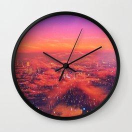 Neonlight Wall Clock