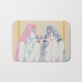 Introverts with thin skin Bath Mat