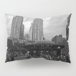 Black and White Union Square Pillow Sham