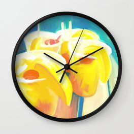 Hurricane Season Wall Clock