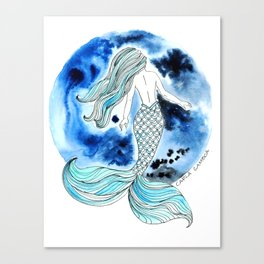 Sirena Luna Canvas Print
