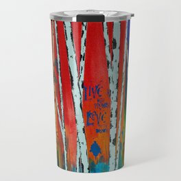 Birch Tree Stitch Travel Mug