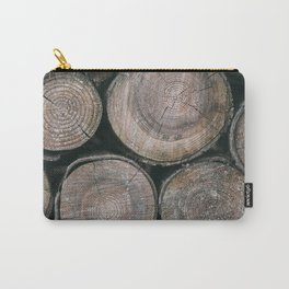 Log Ends Carry-All Pouch