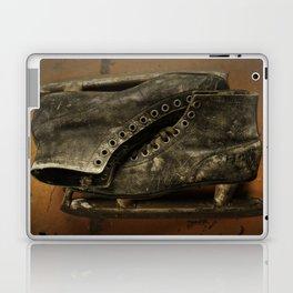 Vintage Ice Skates Laptop & iPad Skin