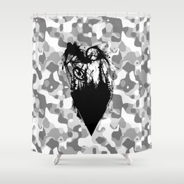 Whip Ink Shower Curtain