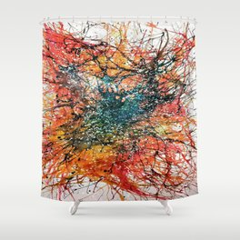 The Disruption Shower Curtain