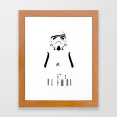 Star Wars - Storm Trooper Framed Art Print