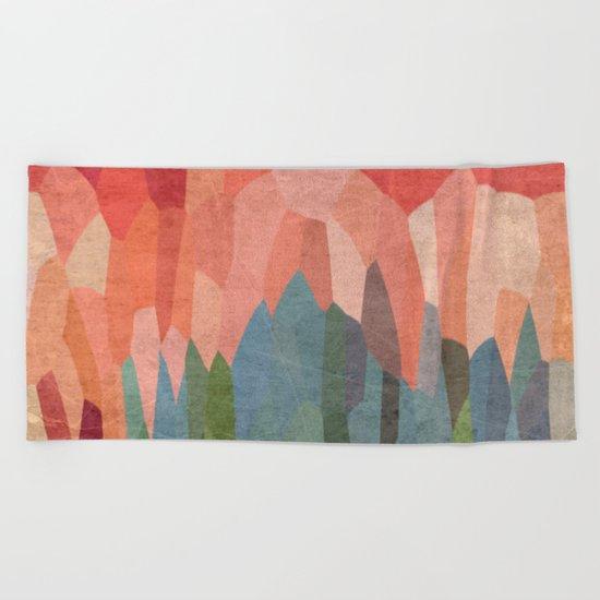 Red Hills Beach Towel