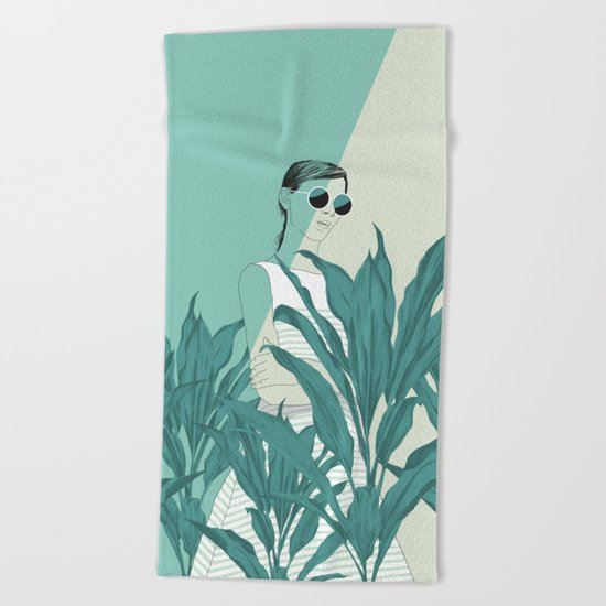 The Blue Nature Beach Towel